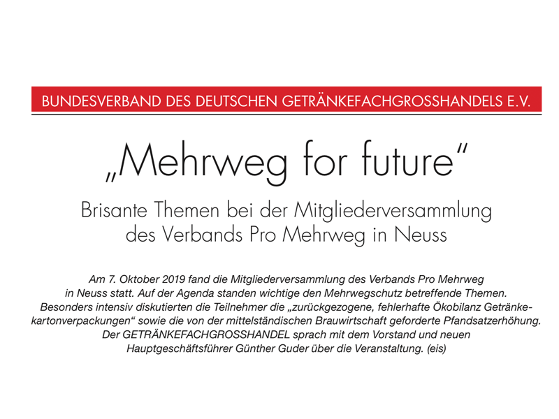 Interview GFGH: Mehrweg for Future