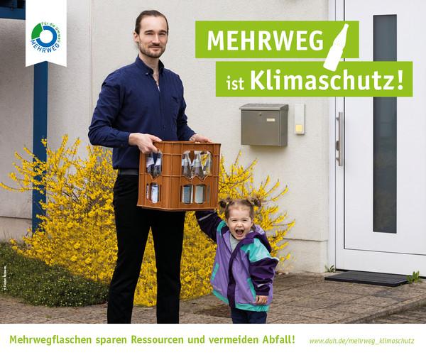Mehrweg ist Klimaschutz: Verbände starten neue Verbraucherkampagne und fordern zur Bundestagswahl massive Stärkung des Mehrwegsystems